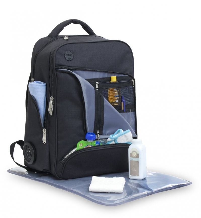XLR8 Connect and Go Back Pack Diaper Bag
