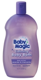 Lavender & Chamomile Calming Baby Bath
