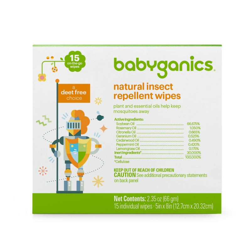 Natural Insect Repellent Spray & Wipes