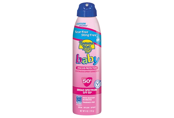 Baby Tear-Free Sting-Free Continuous Lotion Spray Sunscreen