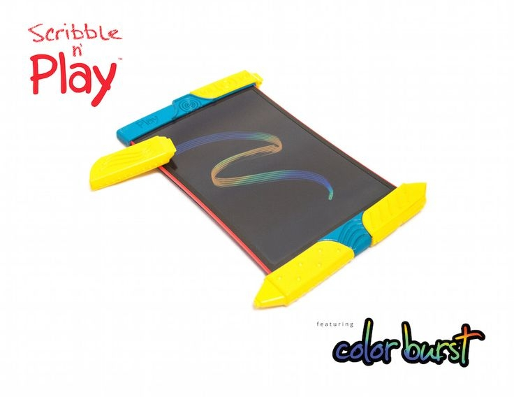 Scribble n' Play Featuring Colorburst™