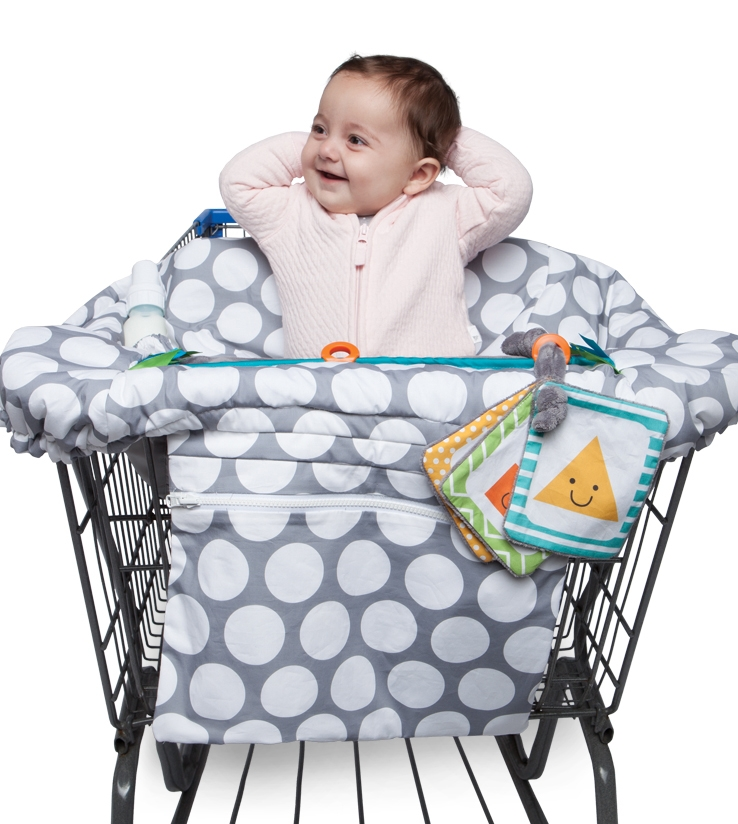 Luxe Shopping Cart Cover