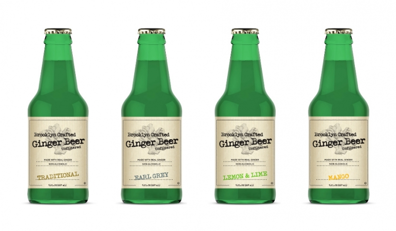 Ginger Beer Mini Bottles