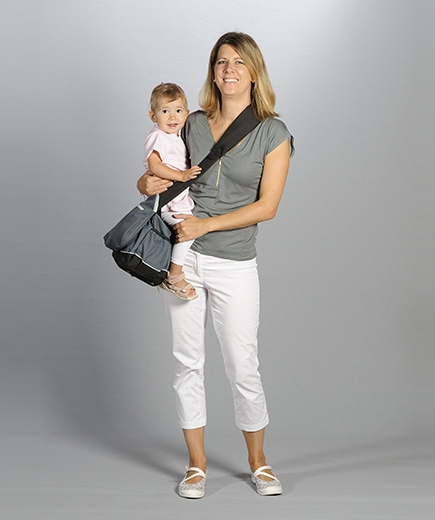2-in-1 Carrier-Diaper Bag