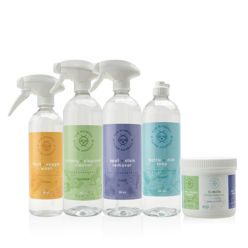 Home Solutions Bundle with Bottles