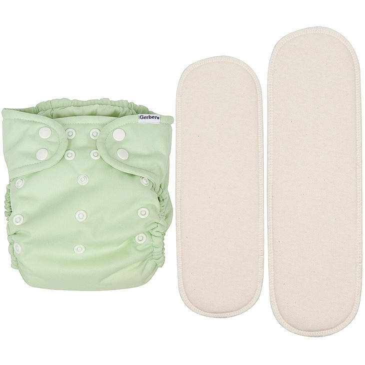 It's A Snap! All-in-One Reusable Cloth Diaper