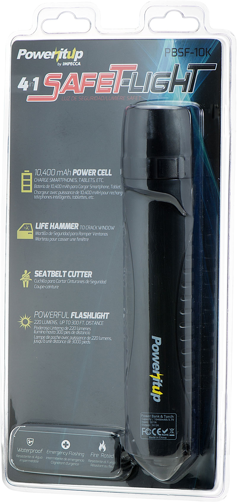 Poweritup 4 in 1 SafeT-Light