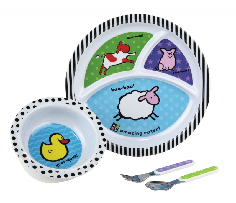 Amazing Baby Melamine Set