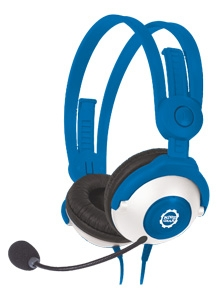 Deluxe Stereo Headset Headphones with Boom Microphone