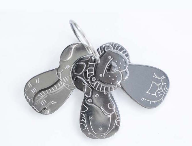 Stainless Steel Toy Keys