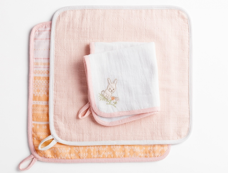 Muslin Wash Cloths