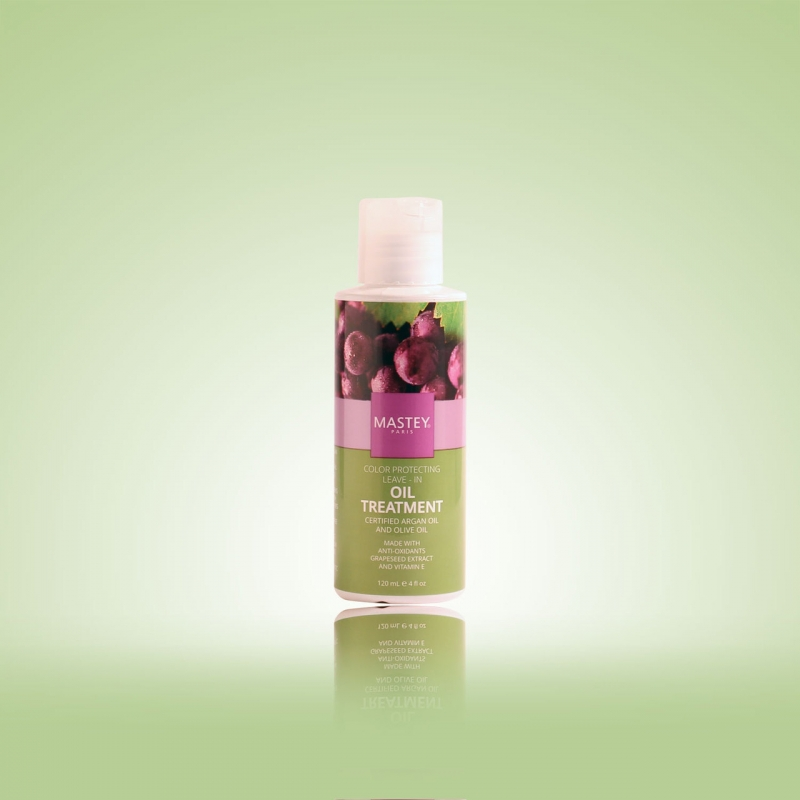 Color Protecting Leave-In Oil Treatment with Argan Oil & Olive Oil