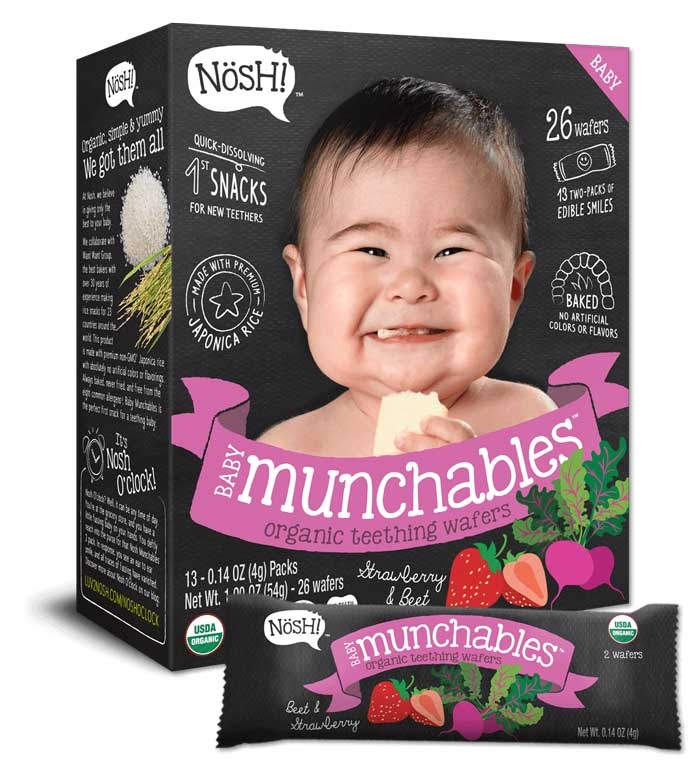 Baby Munchables Organic Rice Snacks