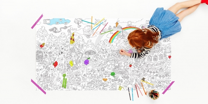 Really Big Coloring Posters