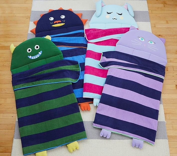 Striped Critter Nap Mats