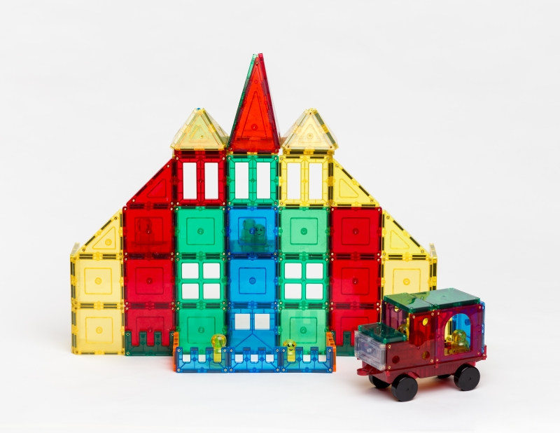 Magnetic Tile Building Sets