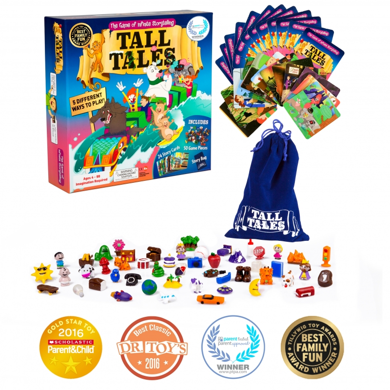 Tall Tales: The Game of Infinite Storytelling