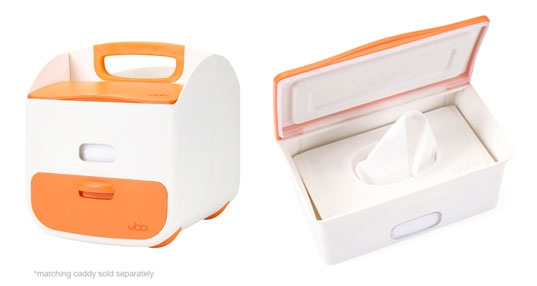 Diaper Caddy & Wipes Dispenser (sold separately)