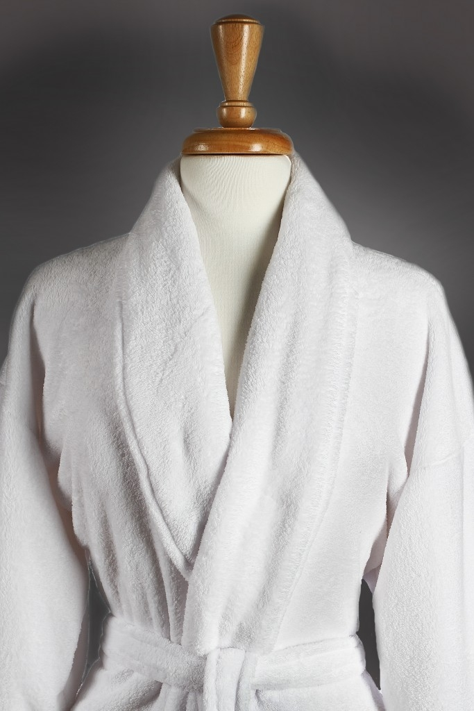 Poly-Plush Spa Robe