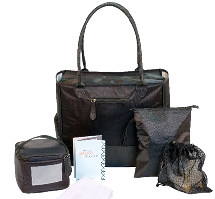 Type A Breast Pump Bag 6 Piece Set