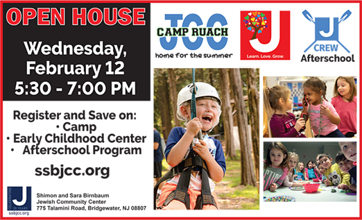 Click here to go to the JCCBridgewater website
