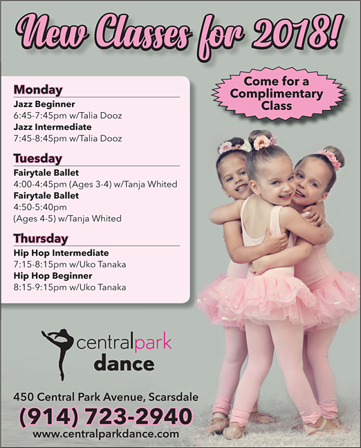 Click here to go to the Central Park Dance-Program Ad website