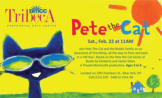 Click here to go to the Tribeca Performing Arts Center_Pete the Cat website