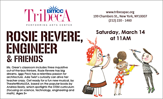 Click here to go to the Tribeca PAC-Rosie Revere website