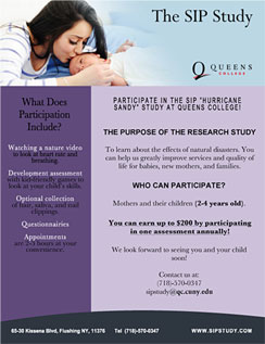 Click here to go to the SIP Study (Queens College) website