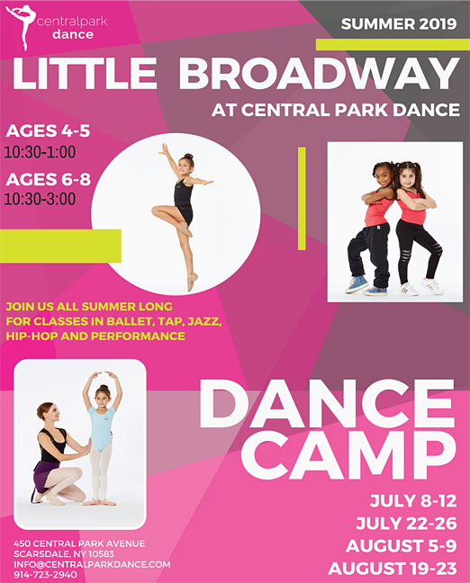 Click here to go to the Central Park Dance-LittleBroadwaySummer website