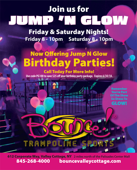 Click here to go to the Bounce! Trampoline Sports® website