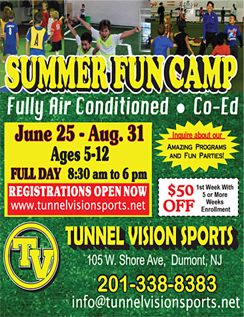 Click here to go to the Tunnel Vision Sports website