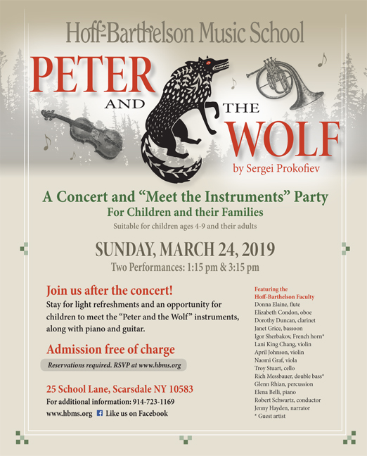 Click here to go to the Hoff-B Peter and the Wolf Concert website