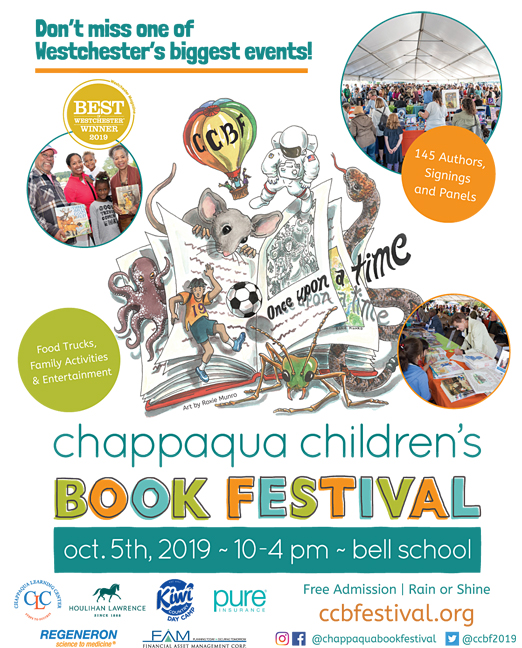Click here to go to the Chappaqua Childrens Book Festival website