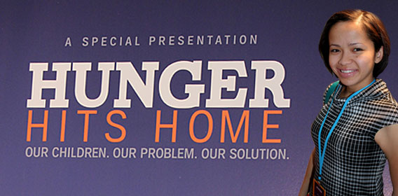 PARENTGUIDE News' own Samantha Chan covered the New York City screening of Hunger Hits Home.