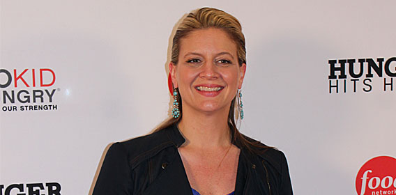 Television chef and restaurateur Amanda Freitag.