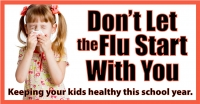 Don't Let the Flu  Start with You