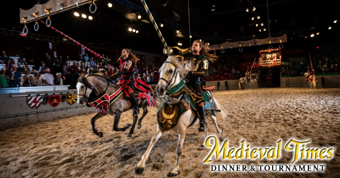 4 Tickets to Medieval Times in Lyndhurst, NJ (3 winners)