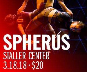 4 tickets to SPHERUS at Staller Center