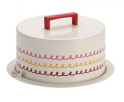 Cake Boss Metal Cake Carrier For Our Facebook Fans