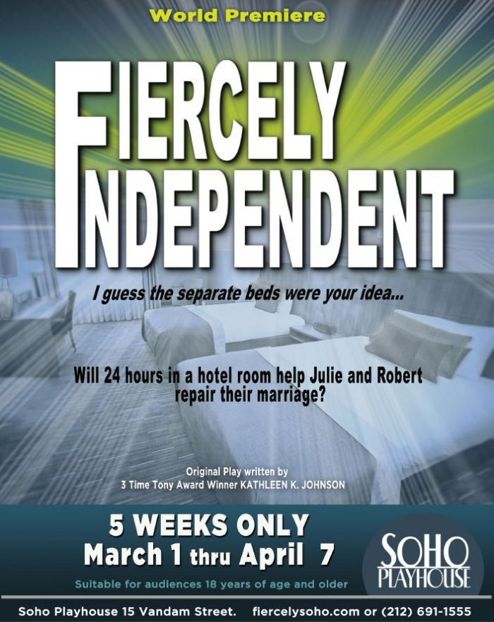 2 Tickets to Fiercely Independent (5 winners)