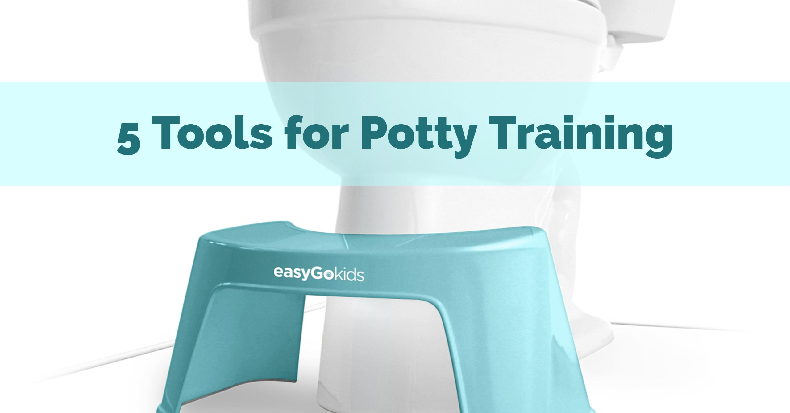 5 Tools for Potty Training